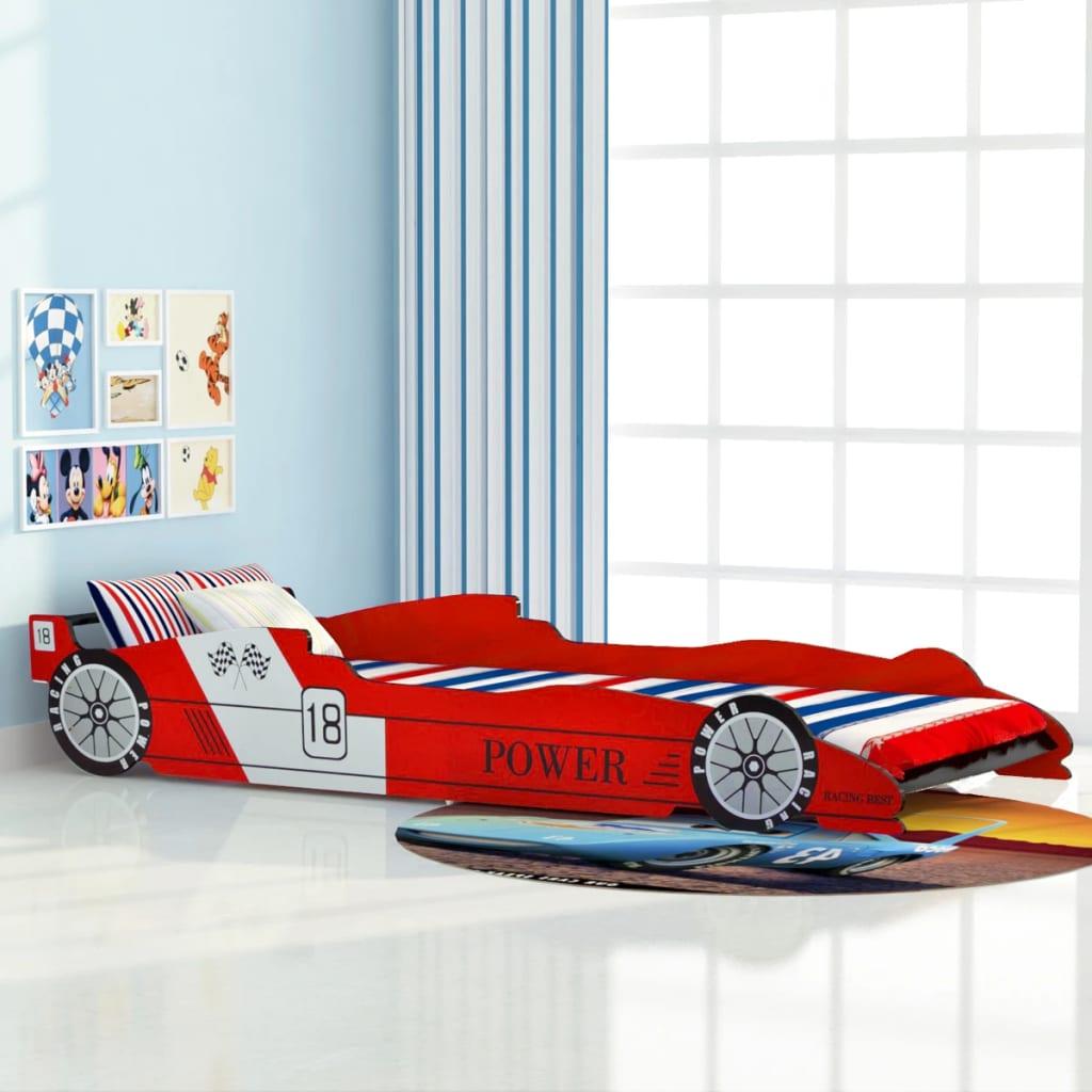 vidaxl lit voiture de course pour enfants chambre - Lit Voiture Enfant