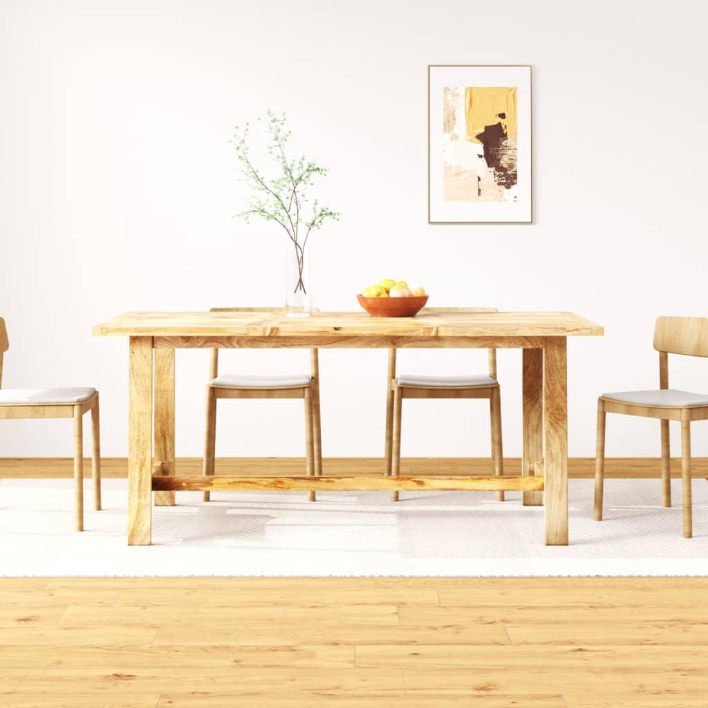 vidaXL tömör mangófa étkezőasztal 180 cm