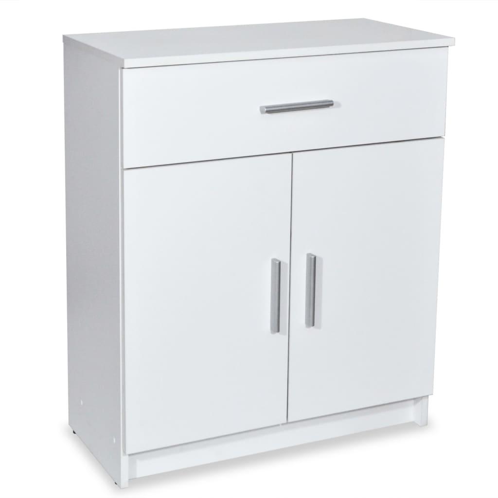 vidaXL Kredens, 71x35x88 cm, biały, płyta wiórowa