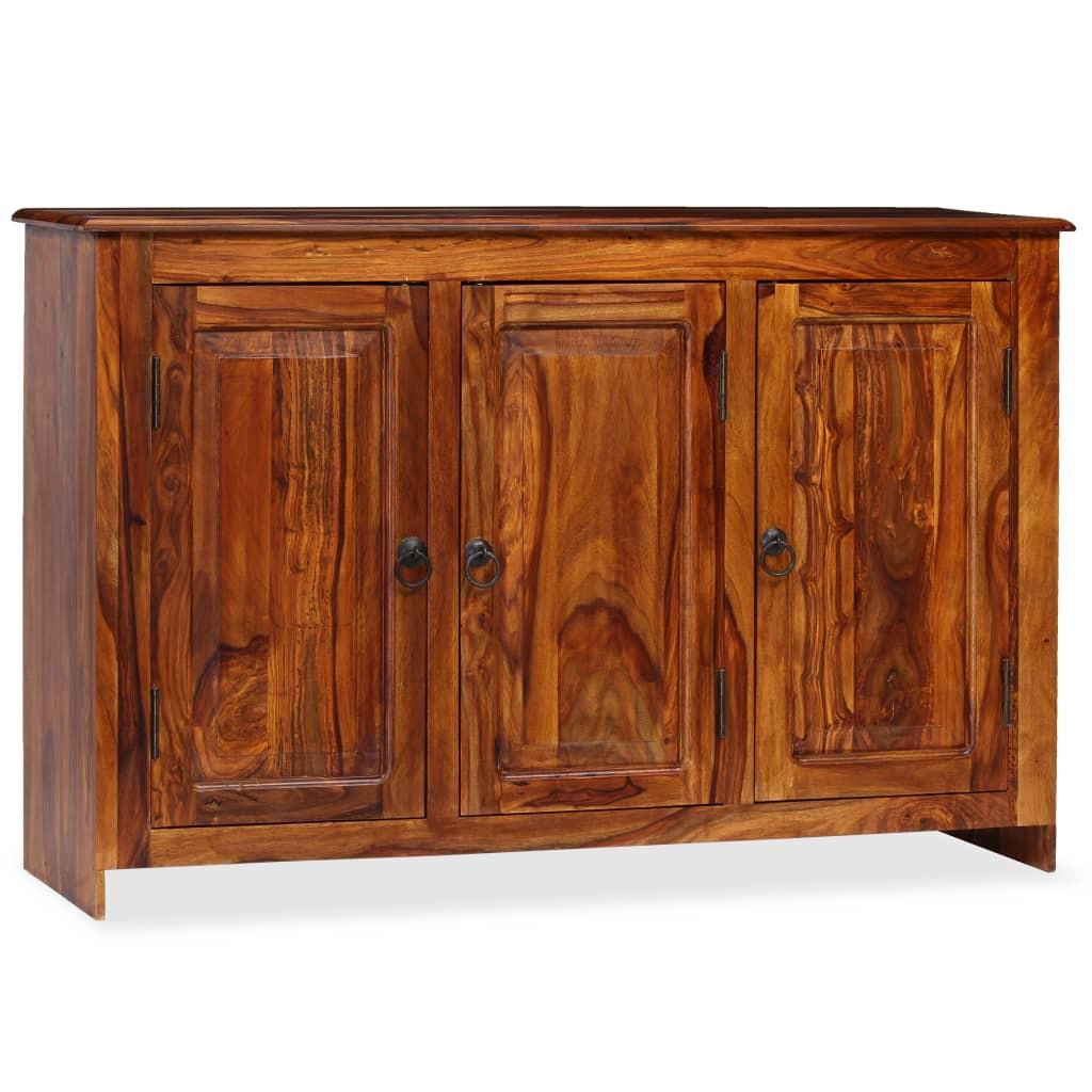 vidaXL Szafka z litego drewna sheesham, 115 x 35 x 75 cm