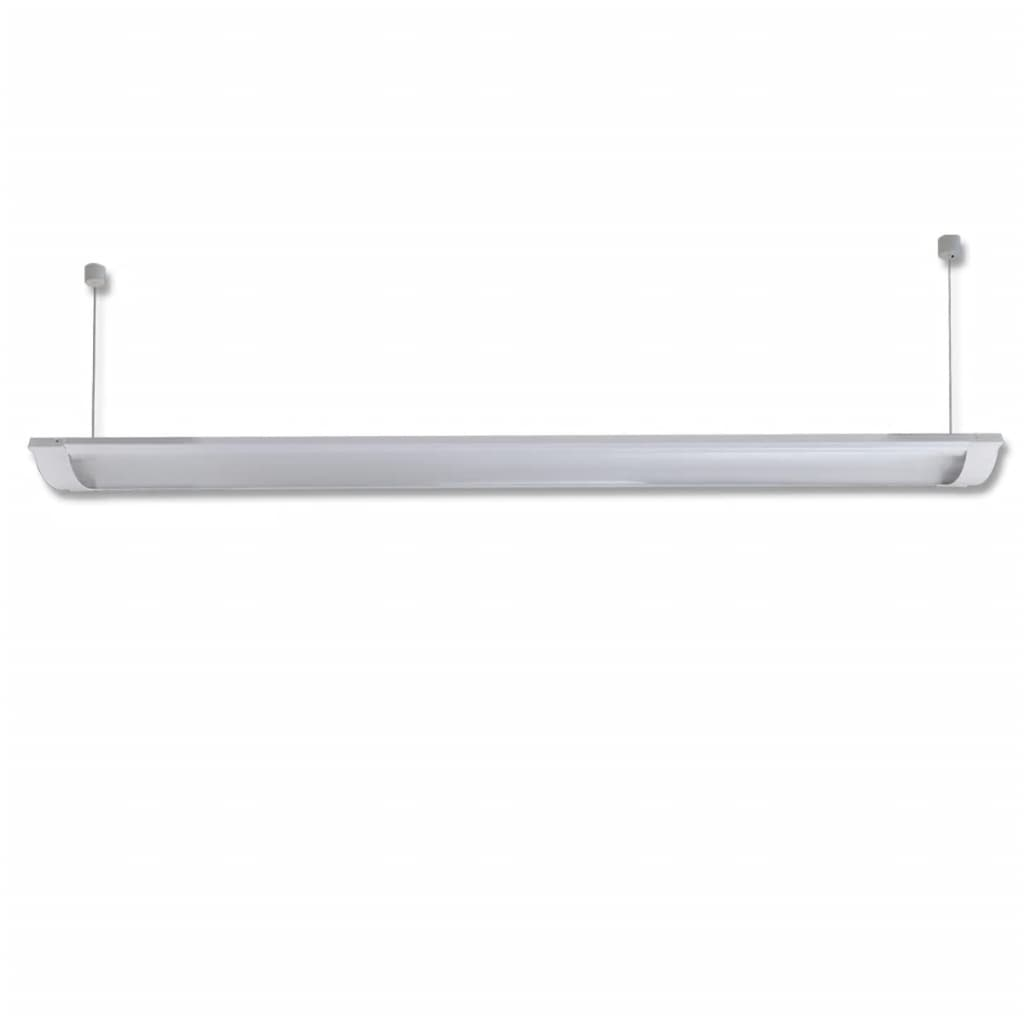 lamp 58w t8 vapor proof fluorescent light fixture milk top cord 2. Black Bedroom Furniture Sets. Home Design Ideas