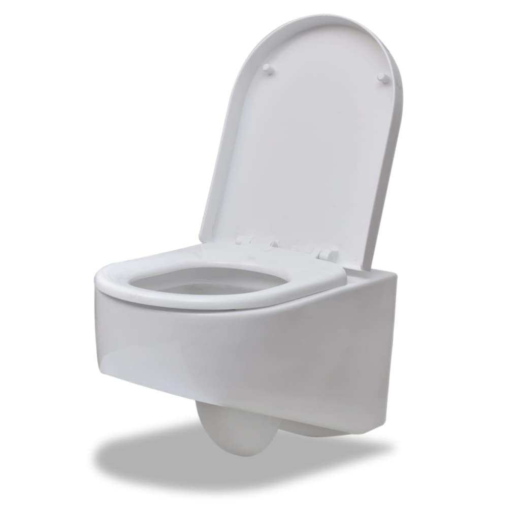 wand h nge wc toilette design wei sp lkasten g nstig. Black Bedroom Furniture Sets. Home Design Ideas