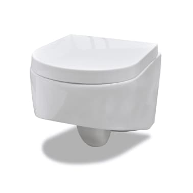 der wand h nge wc toilette design wei sp lkasten online shop. Black Bedroom Furniture Sets. Home Design Ideas