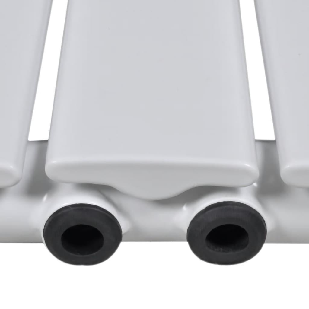 La boutique en ligne porte serviette 465mm radiateur panneau blanc 465mm x 1800mm for Radiateur porte serviette