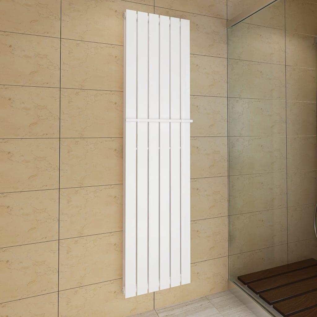 Acheter porte serviette 465mm radiateur panneau blanc for Porte serviette double