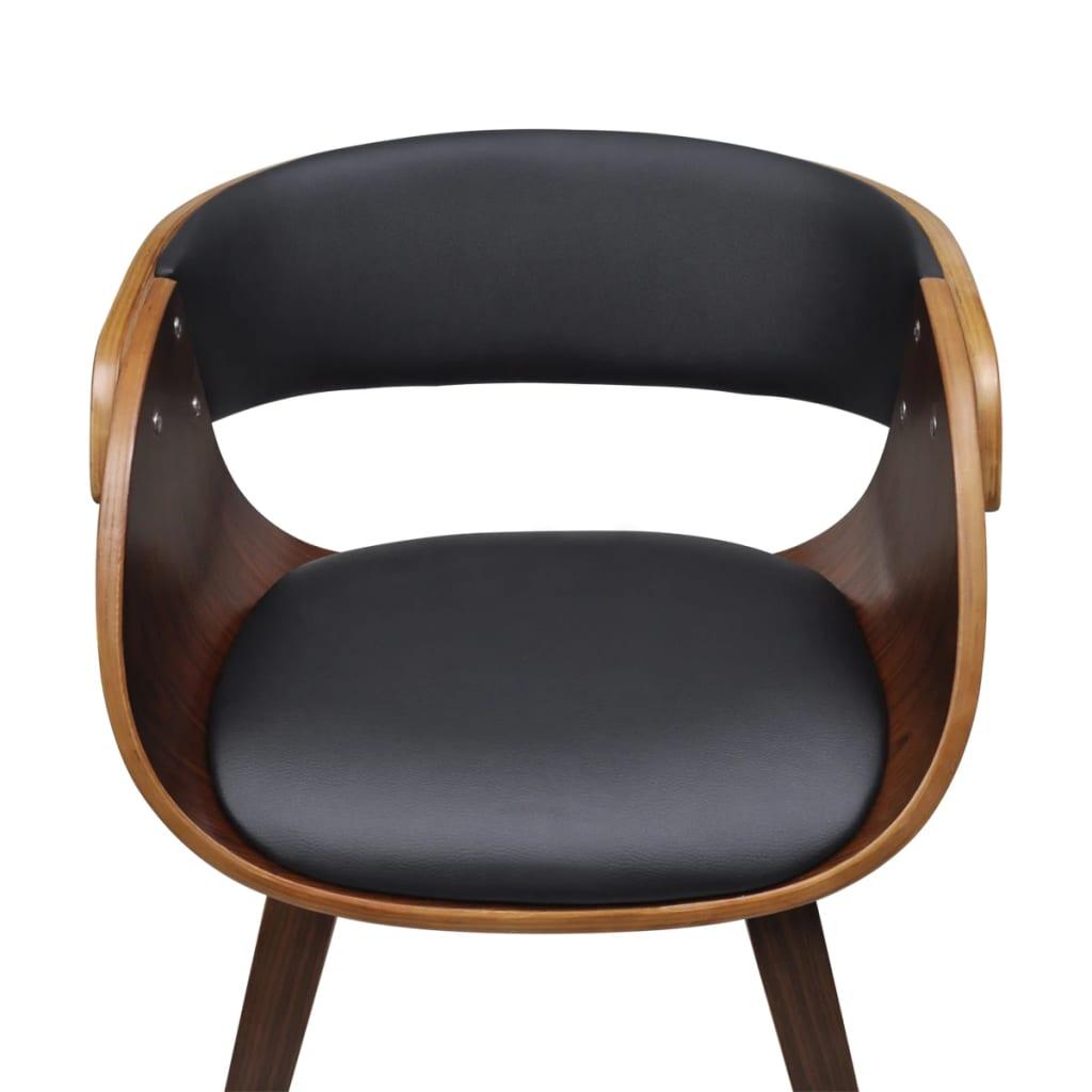 ... 4 X Esszimmer Stuhl Stühle Sessel Esszimmerstühle Holzrahmen Braun[4/7]  ...