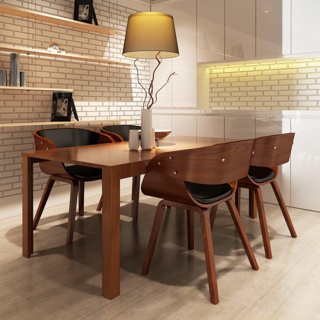 Esszimmerstuhl Stuhl Esszimmer Stühle Sessel Esszimmerstühle Holzrahmen braun  eBay