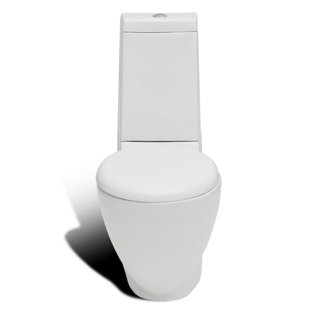 stand toilet bidet set white ceramic. Black Bedroom Furniture Sets. Home Design Ideas