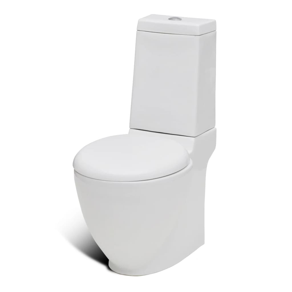 stand toilet bidet set white ceramic. Black Bedroom Furniture Sets. Home Design Ideas