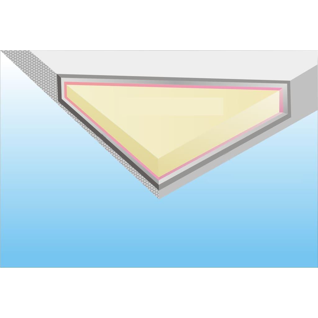 acheter lit rond en simili cuir 180 x 200 cm blanc avec matelas pas cher. Black Bedroom Furniture Sets. Home Design Ideas