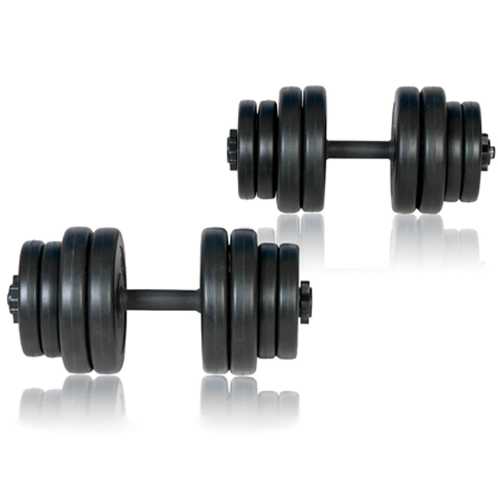 Folding Weight Bench Dumbbell Barbell Set Home Gym
