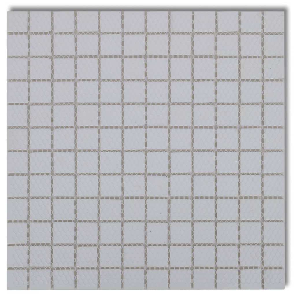 Der 20x Glass Mosaik Fliesen weiß 1,8 qm online shop  vidaXL.de