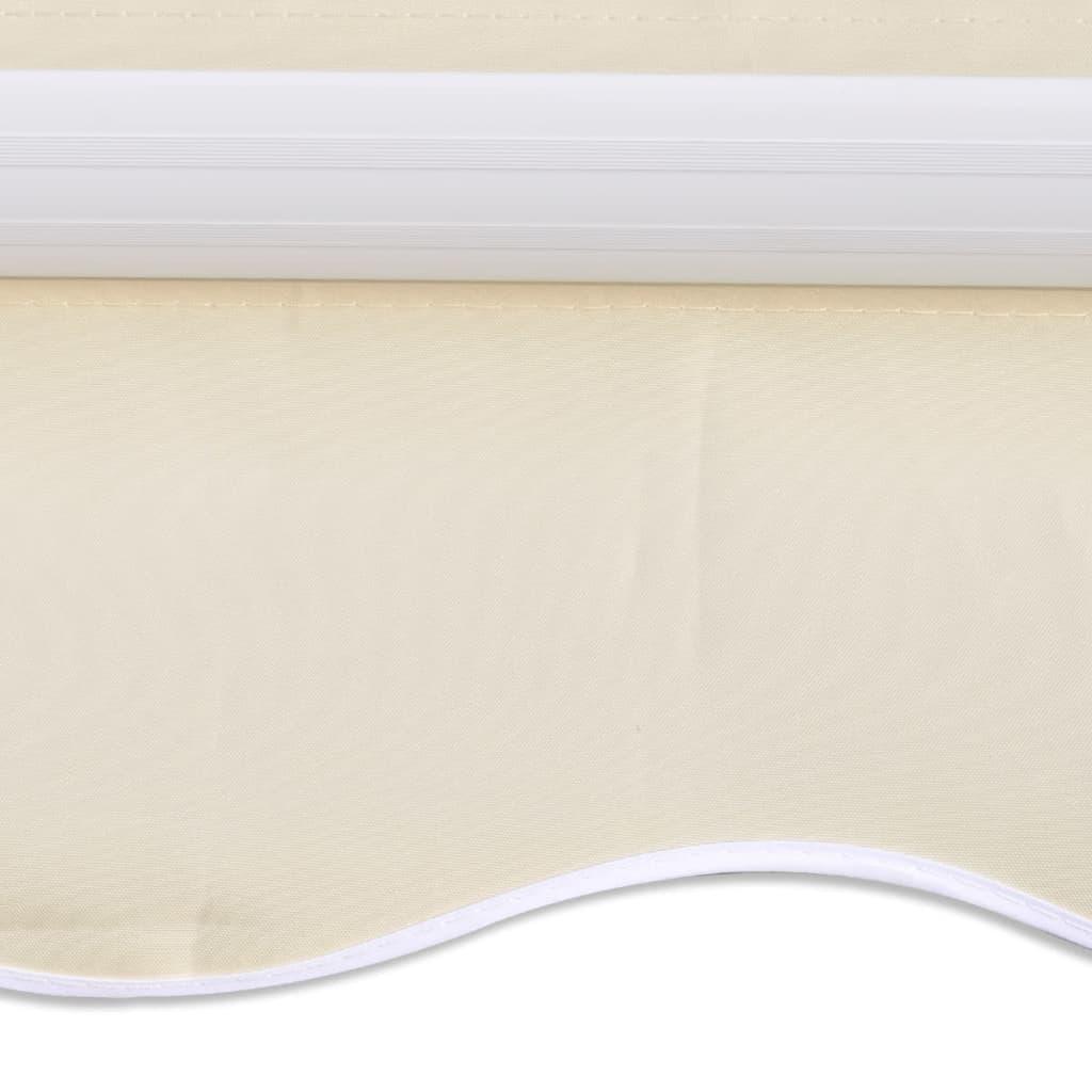 la boutique en ligne store banne avec cadre 3 x 2 5 m blanc cr me. Black Bedroom Furniture Sets. Home Design Ideas