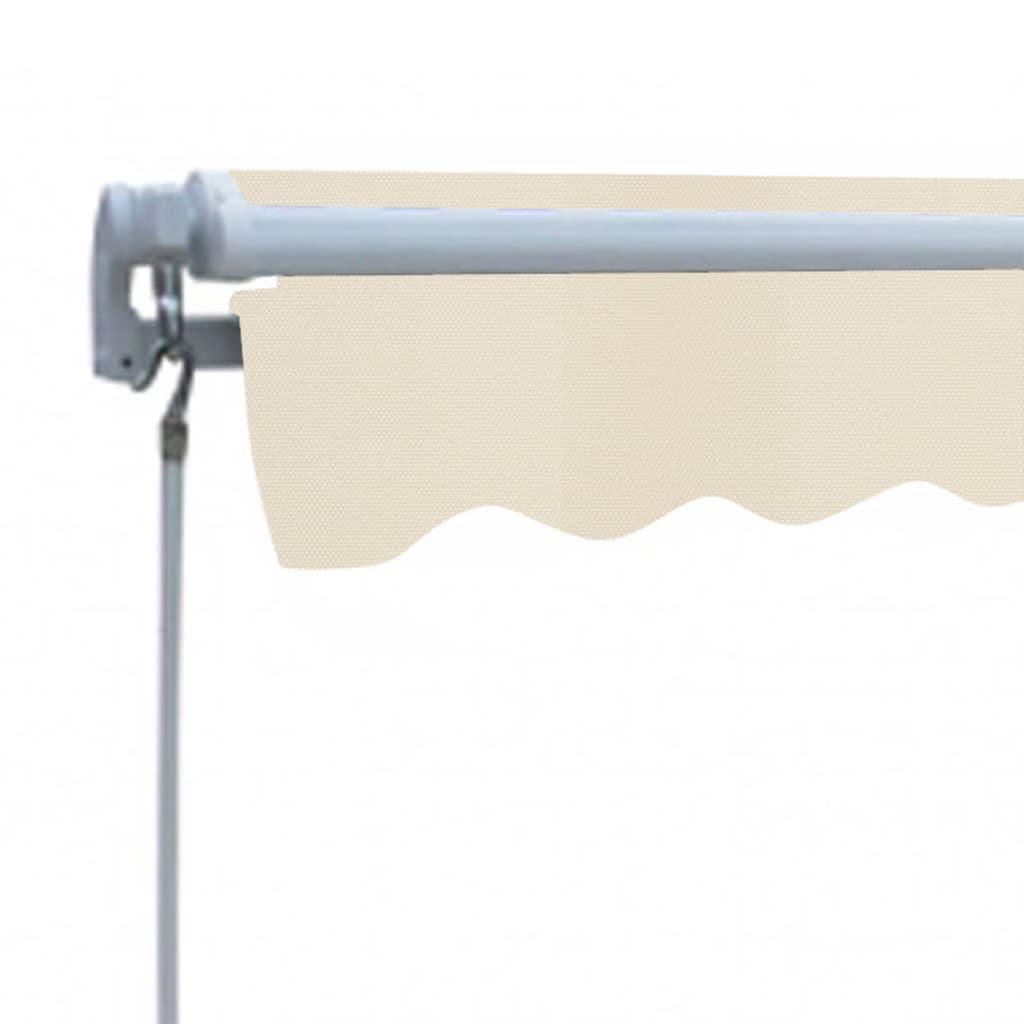 Acheter store banne avec cadre 3 x 2 5 m blanc cr me pas cher - Store banne exterieur pas cher ...
