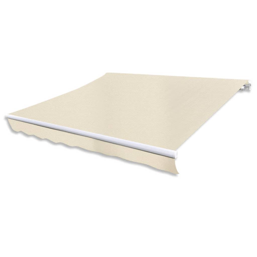 der markise sonnenschutz sonnensegel creme 6 x 3 m online. Black Bedroom Furniture Sets. Home Design Ideas