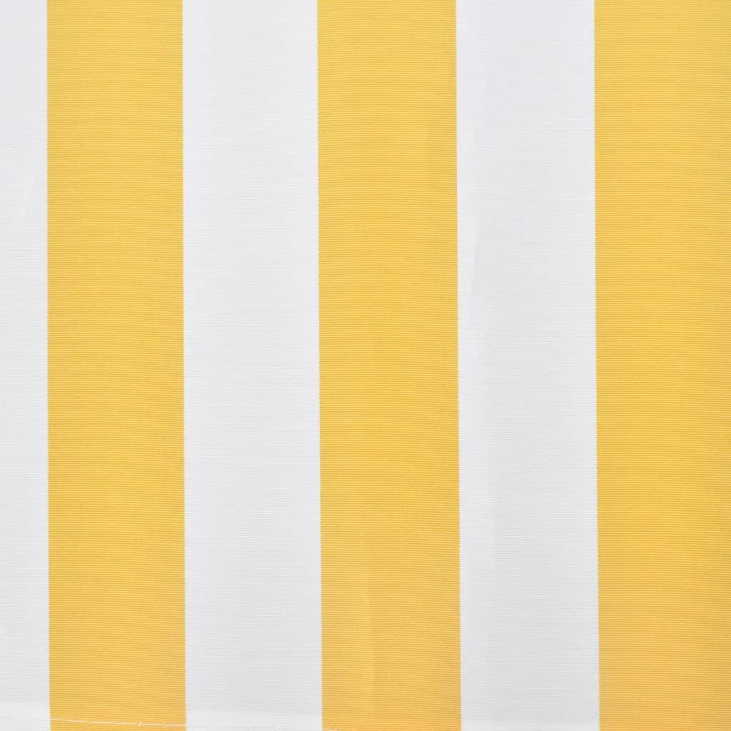 Markise Sonnenschutz Sonnensegel Gelb Wei 6 X 3 M G Nstig