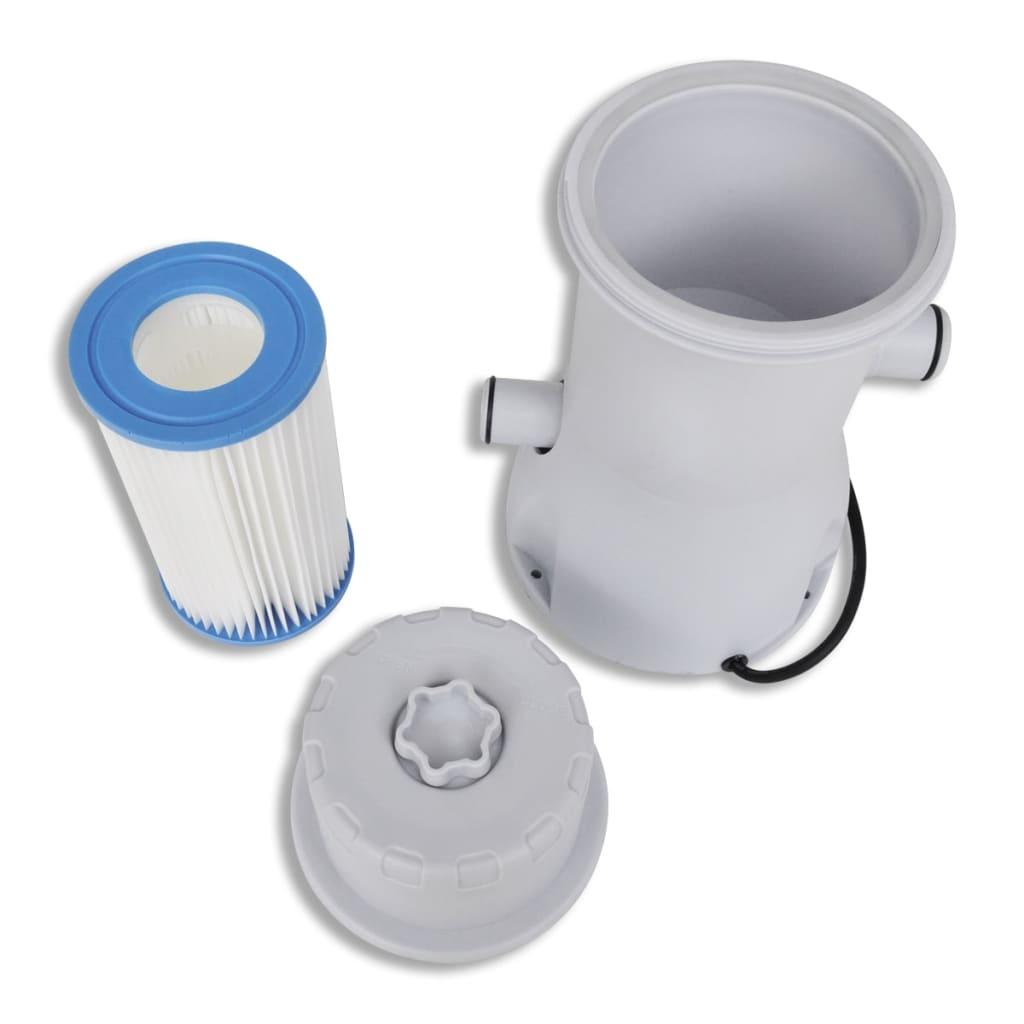 Articoli per set pompa filtro per piscina 1000 gal h con for Filtri piscina