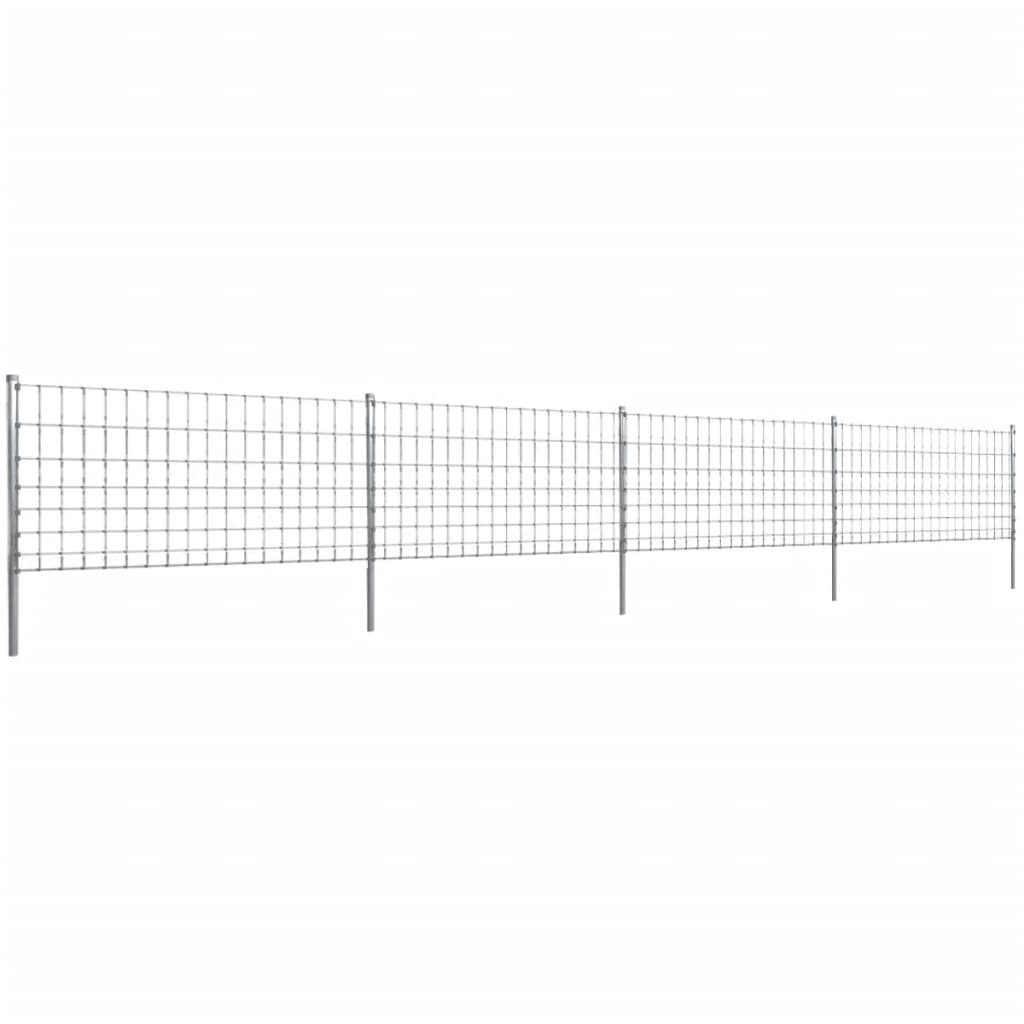 Eftergalvaniserat Trådstaket Step-in 50 m 100/8/15