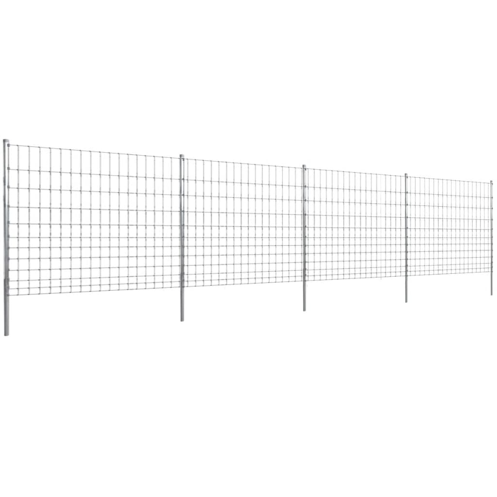 Eftergalvaniserat Trådstaket Step-in 50 m 150/12/15