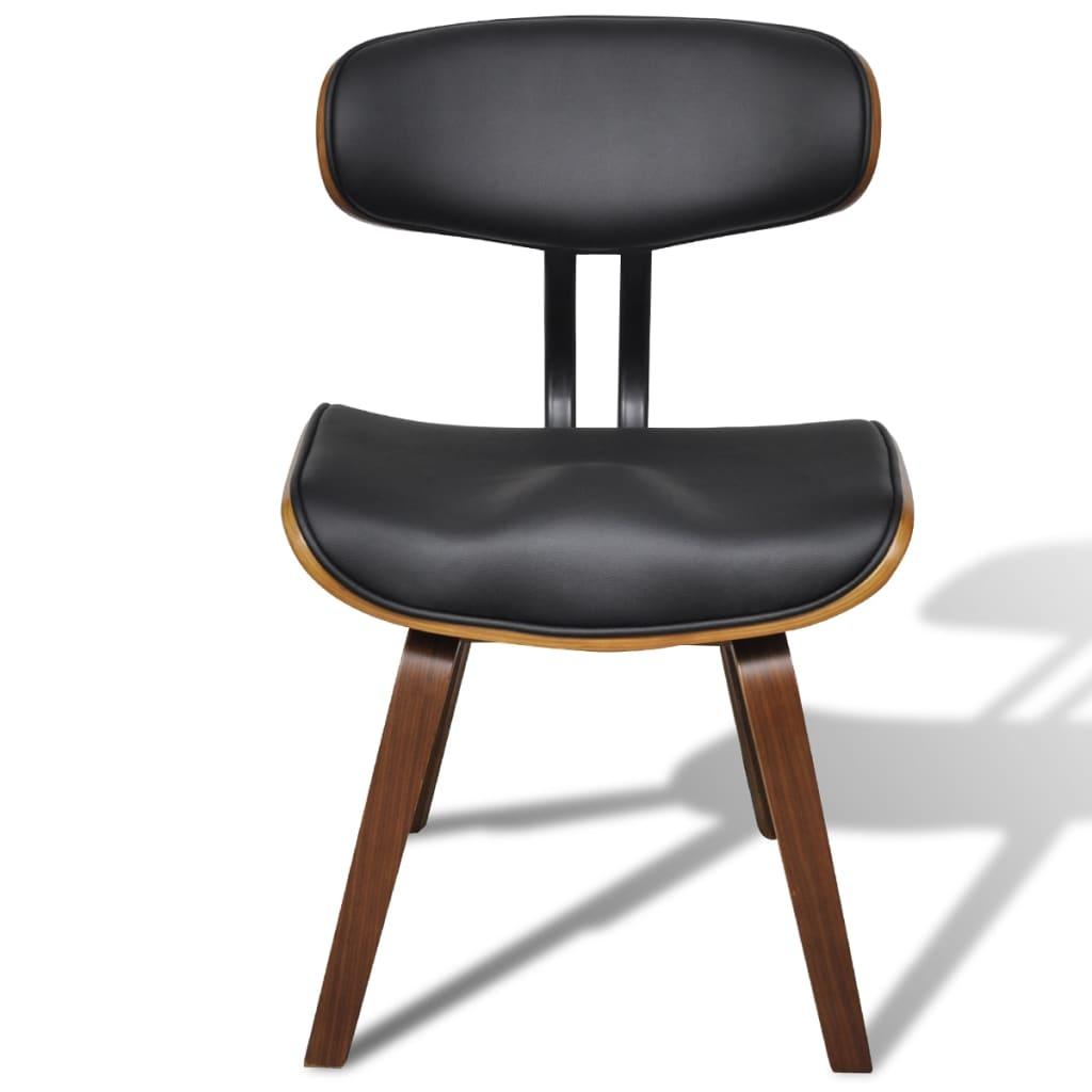 Cadeira couro artificial e madeira com encosto / 4 peças (4 x 241054  #976134 1024x1024
