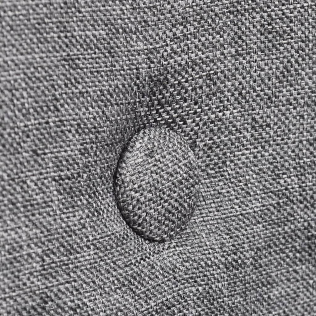 la boutique en ligne chaise gondole accoudoir int rieur ch ne et tissu 6 pi ces gris fonc. Black Bedroom Furniture Sets. Home Design Ideas