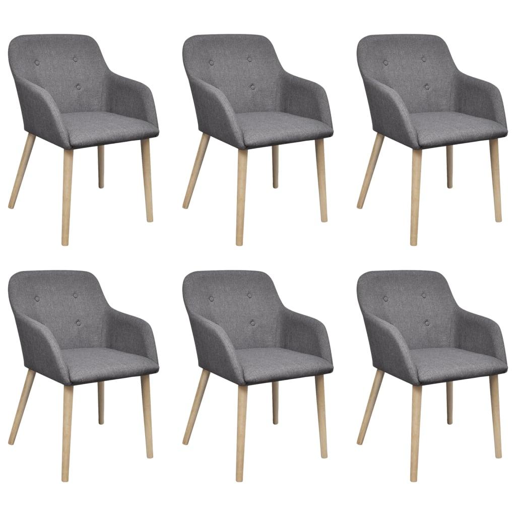 2 4 6x st hle stuhl stuhlgruppe esszimmerst hle esszimmerstuhl armlehne eiche ebay. Black Bedroom Furniture Sets. Home Design Ideas