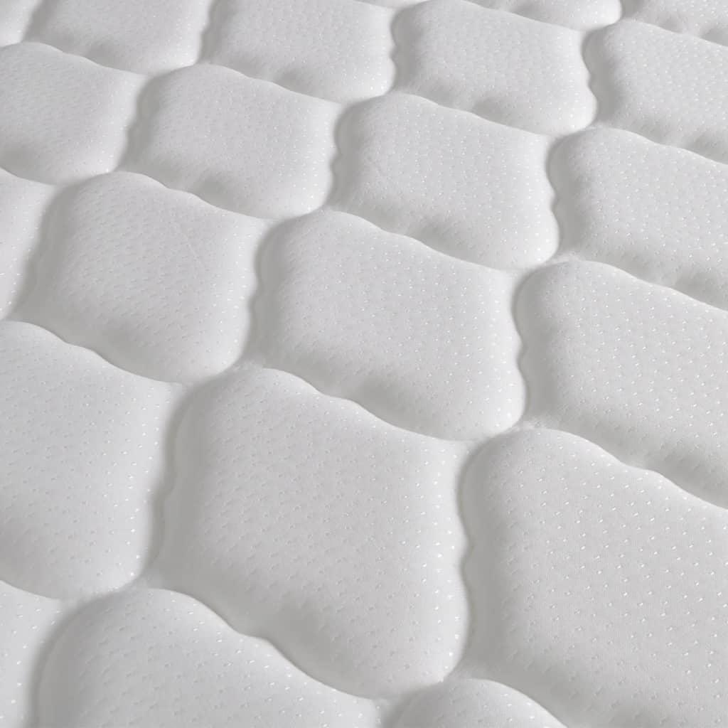 la boutique en ligne lit en similicuir avec t te de lit led matelas m moire 180 cm blanc. Black Bedroom Furniture Sets. Home Design Ideas