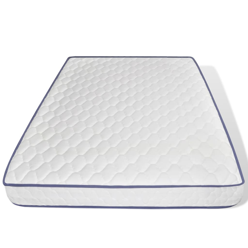 der schwarzes hochglanz kunstlederbett mit memory foam. Black Bedroom Furniture Sets. Home Design Ideas