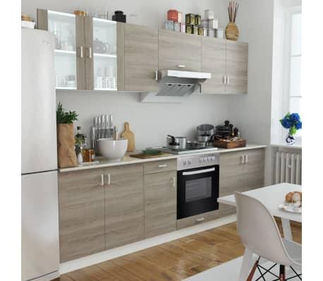 La boutique en ligne cuisine compl te avec four int gr et for Petite cuisine complete