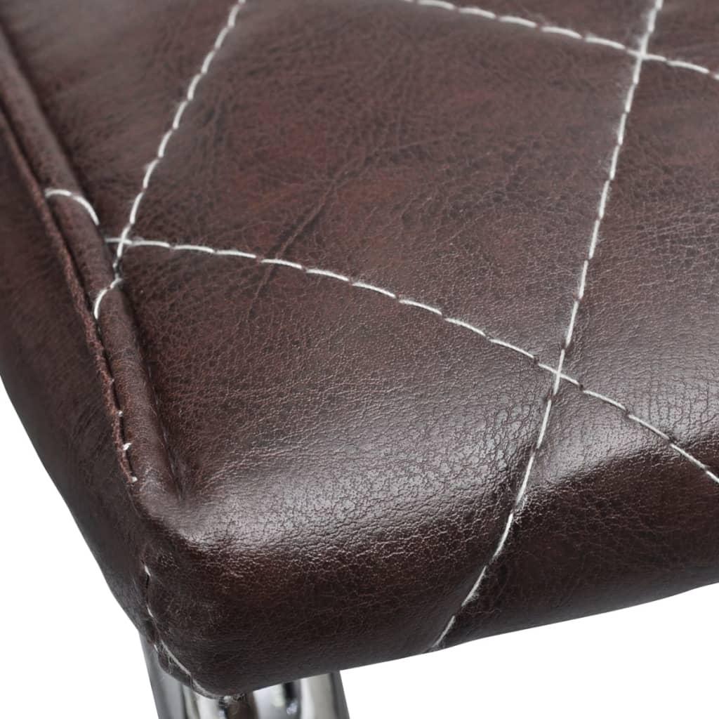 acheter vidaxl chaise de salle 224 manger 6 pcs cuir