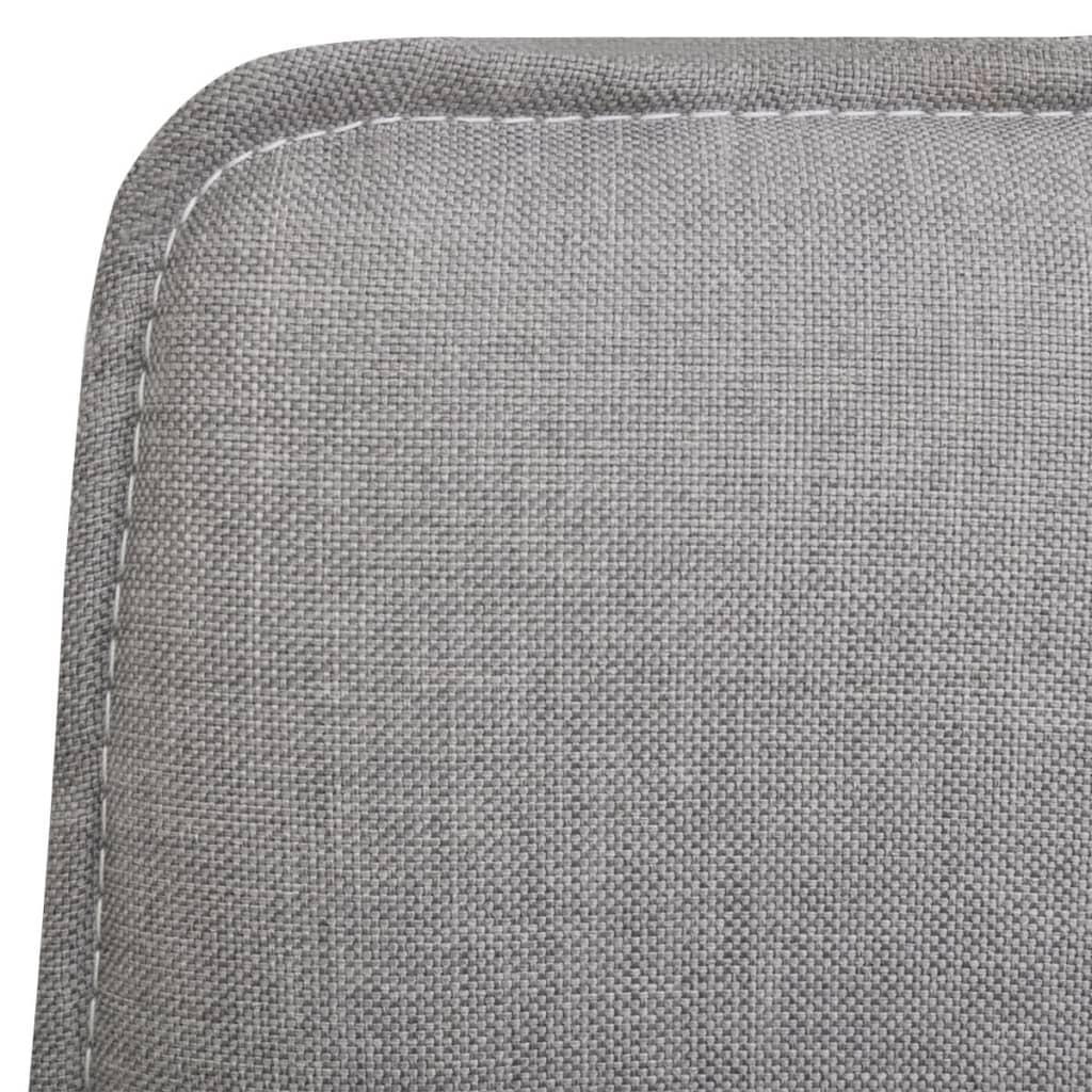La boutique en ligne 6 pcs chaise de salle manger gris for Salle a manger gris clair