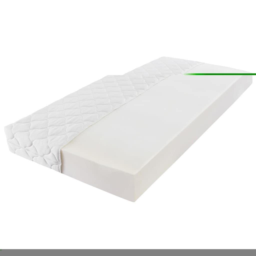 der kunstlederbett bettgestell bett wei 180x200cm matratze online shop. Black Bedroom Furniture Sets. Home Design Ideas