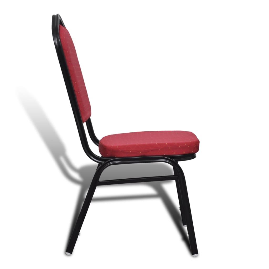 Der esszimmerstuhl rot gepolstert 20 st ck online shop for Esszimmerstuhl rot