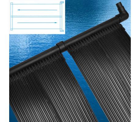 2 pi ces panneau solaire piscine pour chauffage piscine. Black Bedroom Furniture Sets. Home Design Ideas