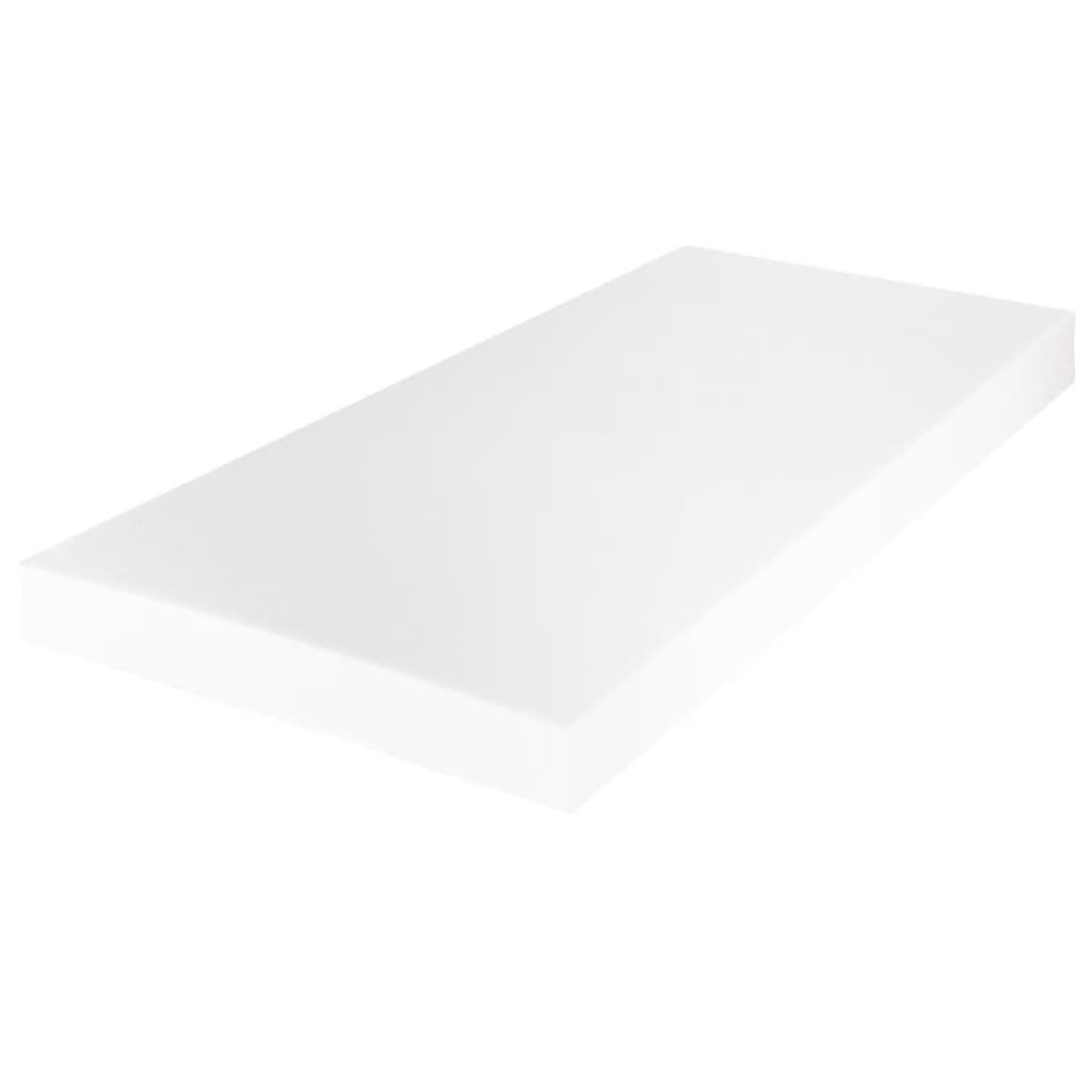 vidaXL-Lit-adulte-metal-180-x-200-cm-moderne-avec-Matelas
