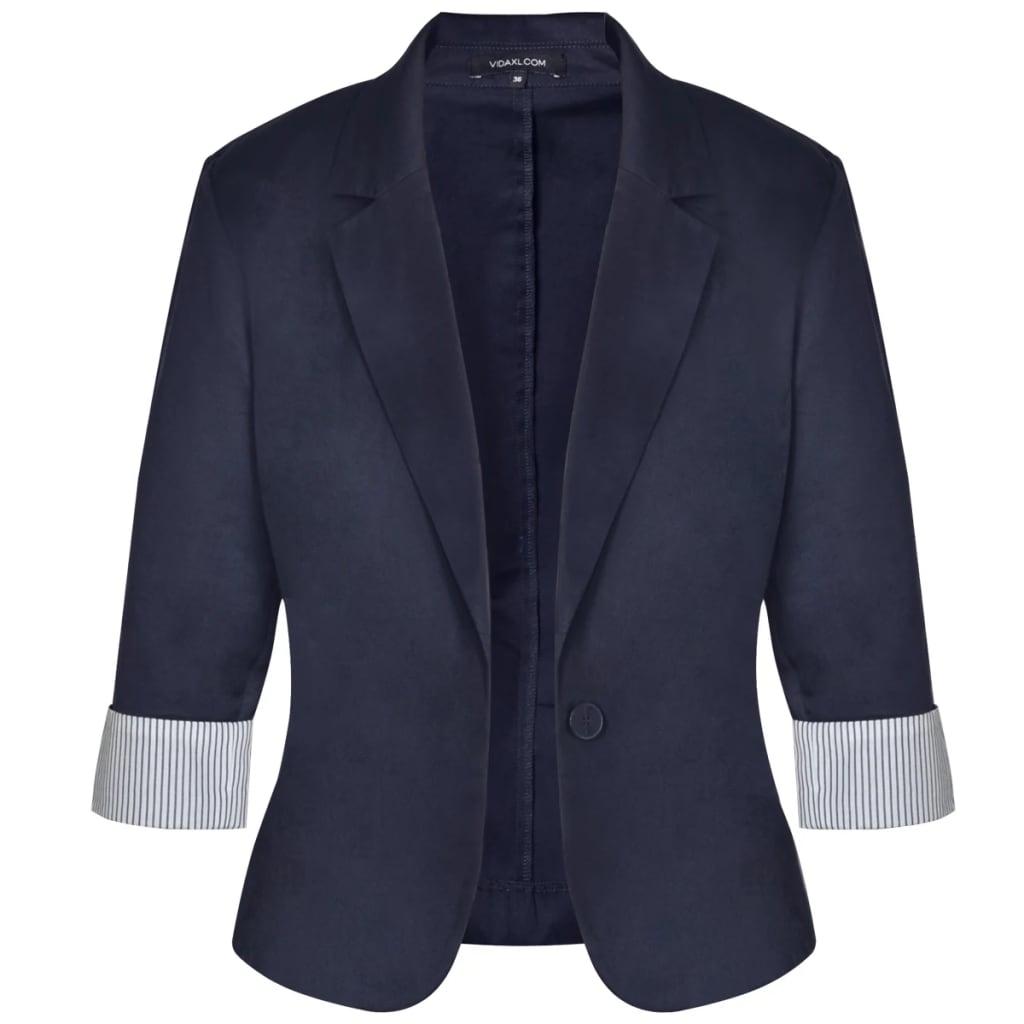 der anzug damen blazer und minrock blau gr 34 online shop. Black Bedroom Furniture Sets. Home Design Ideas