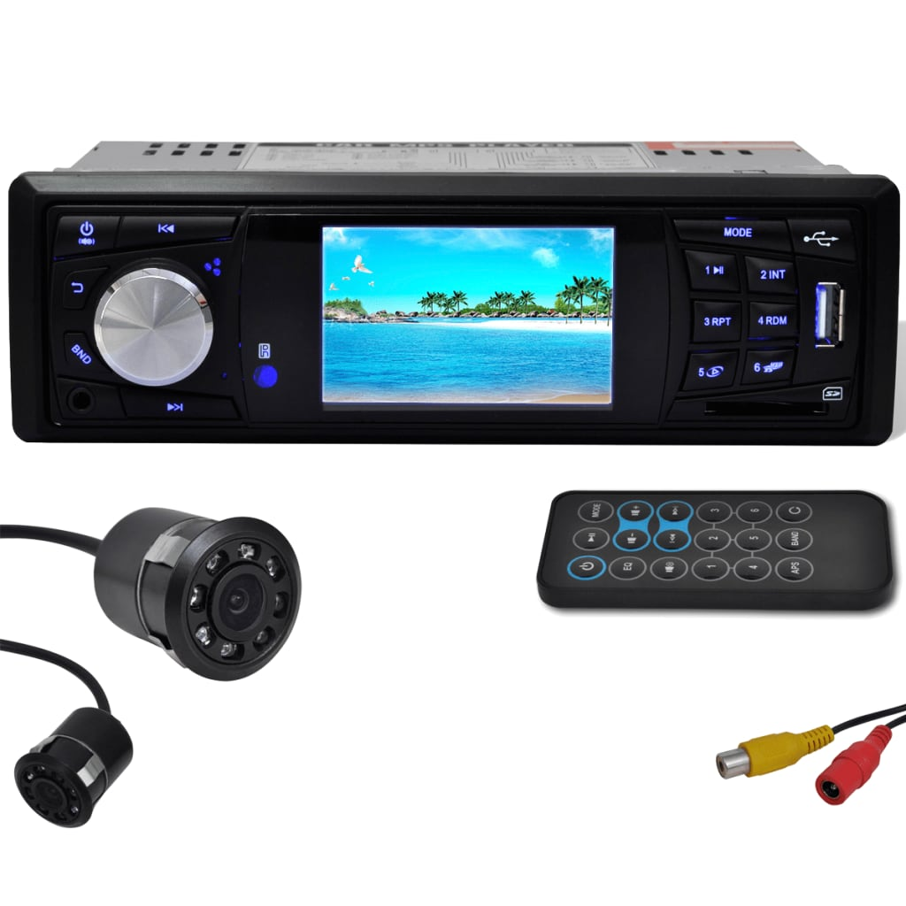 Radio with rear view camera