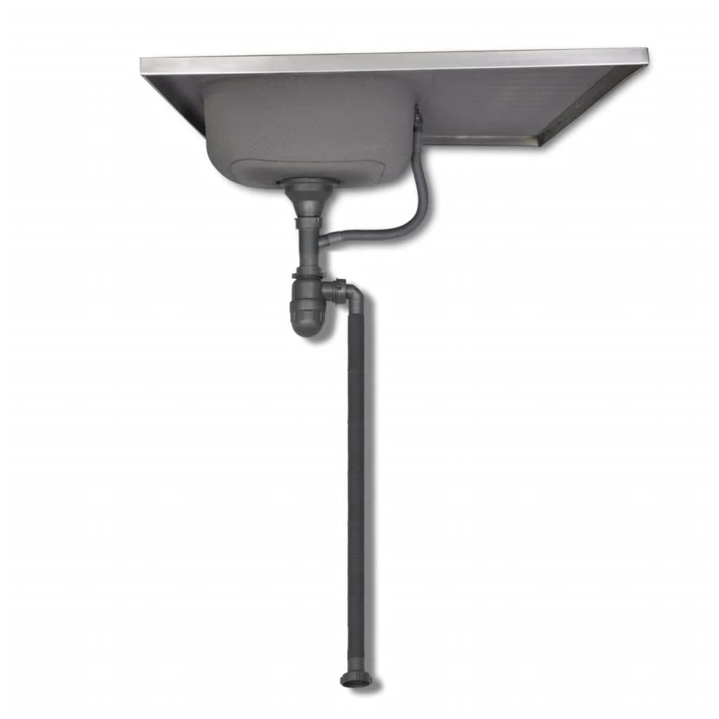 la boutique en ligne cuisine compl te 5 pi ces aspect ch ne avec vier 80 x 60 cm. Black Bedroom Furniture Sets. Home Design Ideas