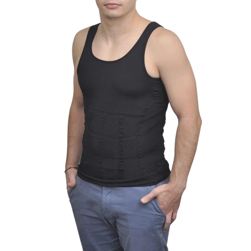 acheter 4 pcs maillot de corps hommes noir blanc l pas cher. Black Bedroom Furniture Sets. Home Design Ideas