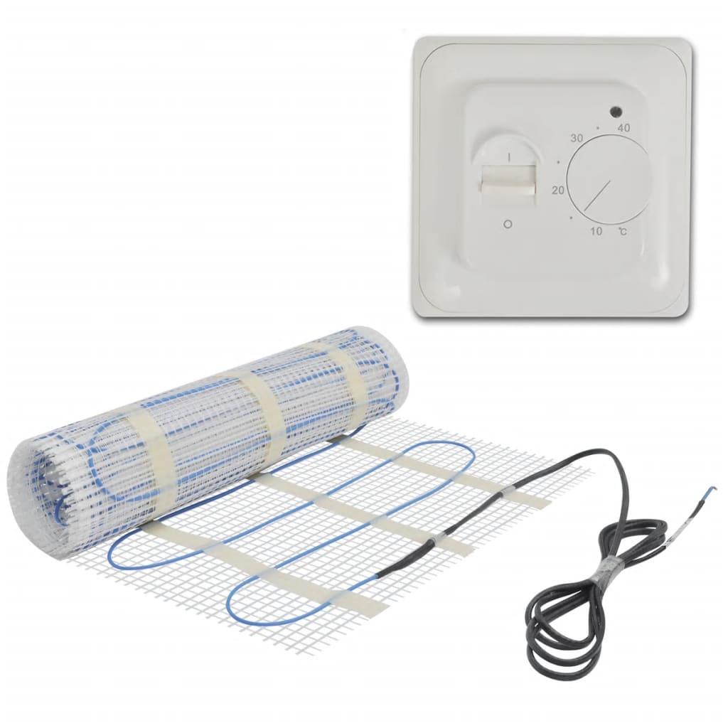 2 m Golvvärmematta 160 W/m med termostat (141289 + 141339)