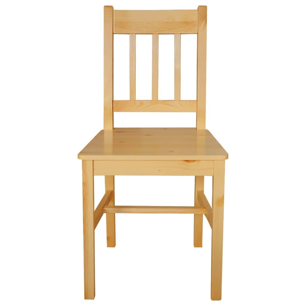 La boutique en ligne 6 pcs chaise salle manger en bois for Chaise bois solde