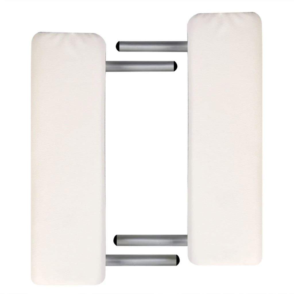 Mesa plegable de masajes de 2 cuerpos y accesorios for Mesa plegable aluminio
