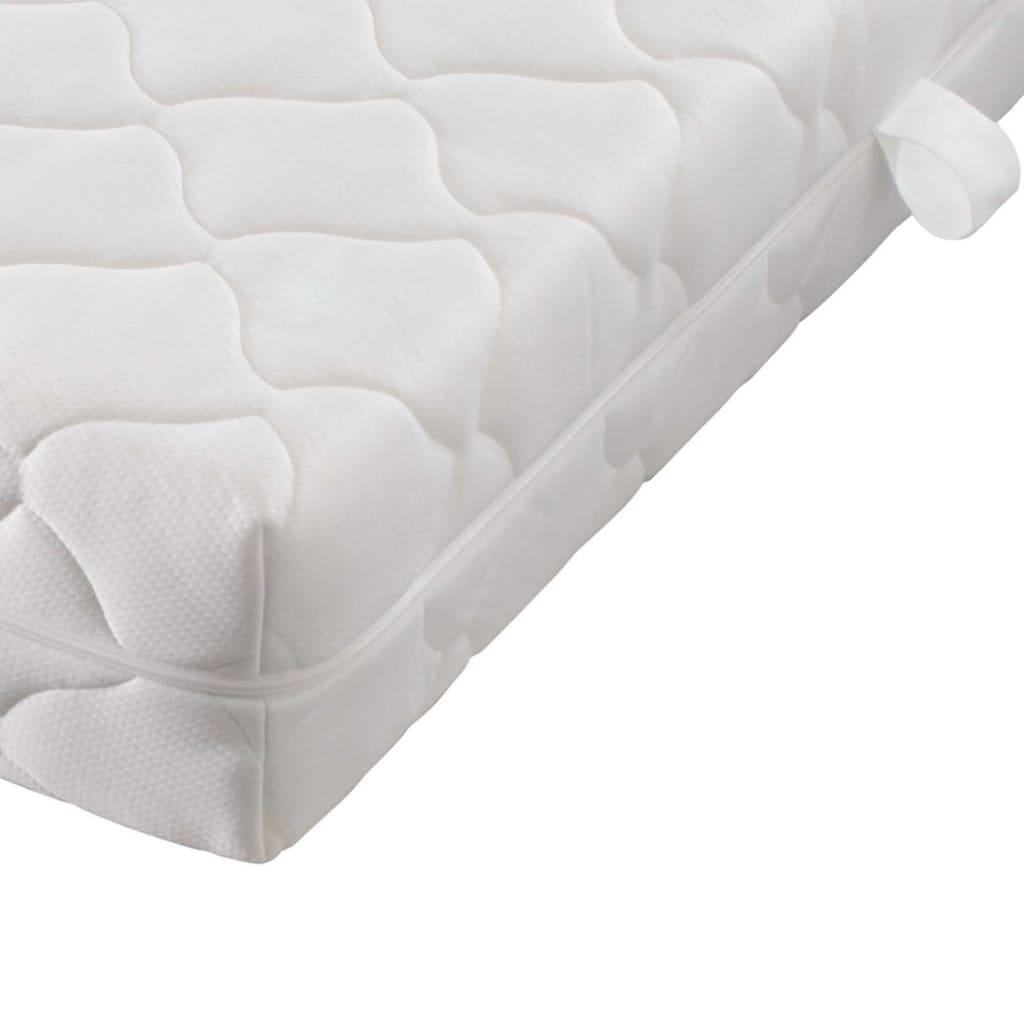 acheter lit en m tal noir matelas surmatelas 140 x 200 cm pas cher. Black Bedroom Furniture Sets. Home Design Ideas