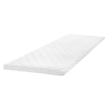 metallbett mamory schaum matratze obermatratze wei 140 x 200 cm zum schn ppchenpreis. Black Bedroom Furniture Sets. Home Design Ideas