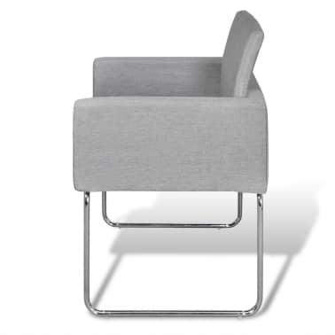 Articoli per 6 sedie da cucina pranzo grigio chiaro con for Sedie a buon prezzo
