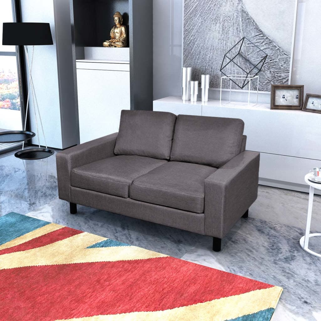 der sofa set 2 sitzer und 3 sitzer dunkelgrau online shop. Black Bedroom Furniture Sets. Home Design Ideas