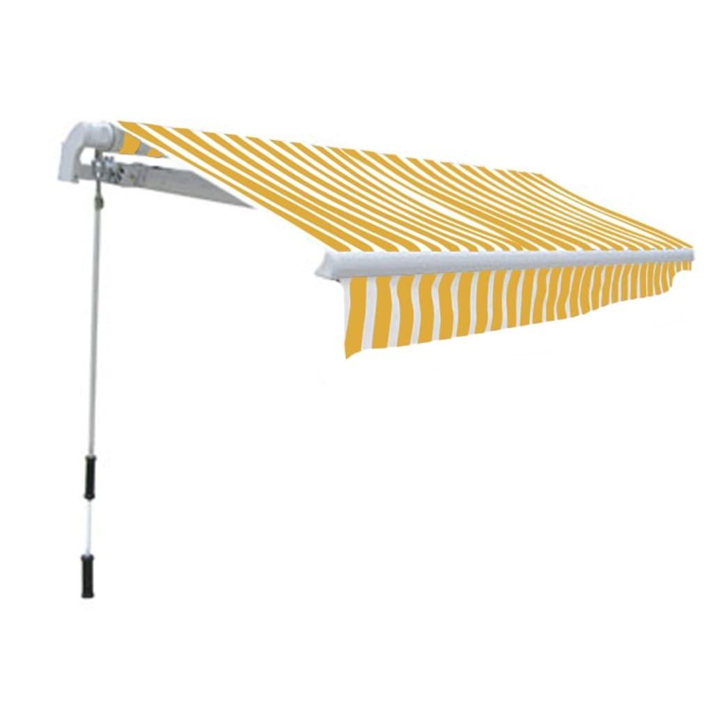 De Opvouwbaar 300 X 250 Cm Geel Wit Online Shop
