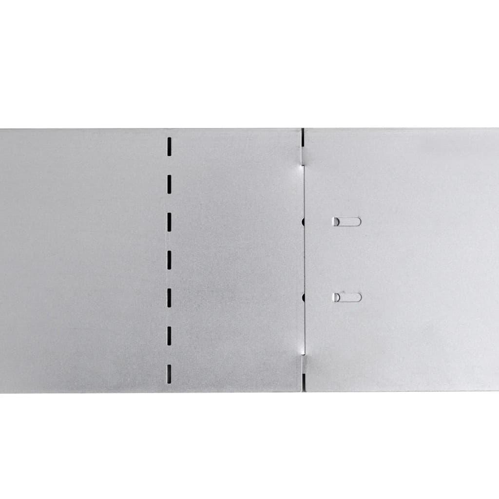 vidaXL-Set-20-paneles-divisorios-flexibles-de-acero-galvanizado-100-x-15-cm