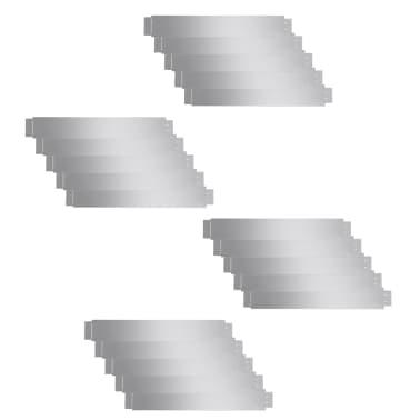 Set de 20 Clôtures de pelouse flexibles en acier galvanisé 100 x 15 cm[2/9]