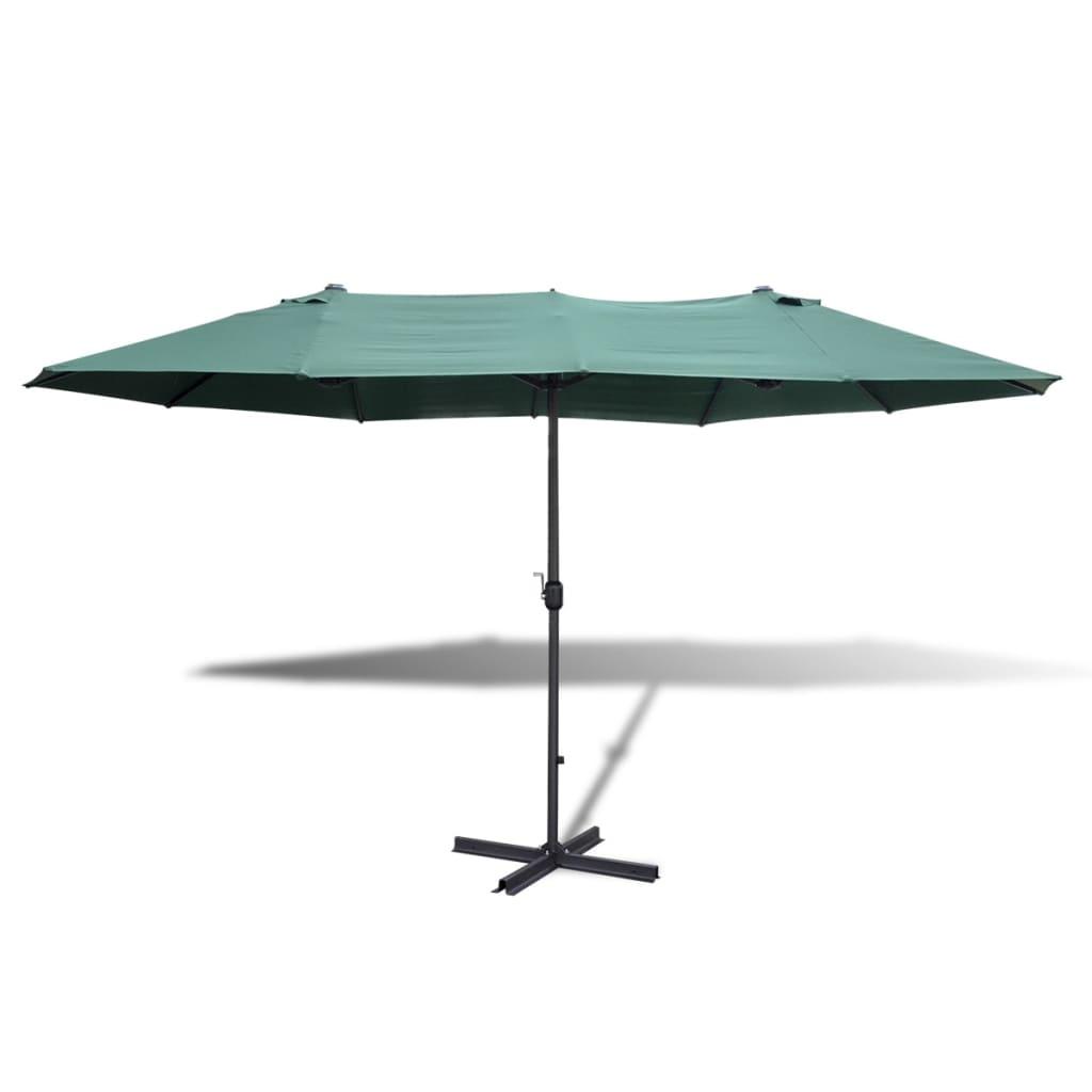 Portable Umbrella Base : Vidaxl umbrella with portable base m